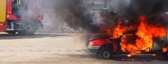 Indemnización por incendio de vehículo